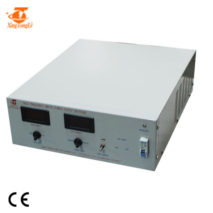 48V 50A Gold Silver Electrolysis DC Power Supply Rectifier High Stability